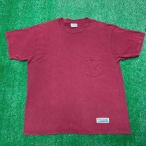 Vintage 90s Discus Athletic Basic Pocket T Shirt